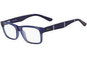 Óculos de Grau Lacoste L3612 414/46 Azul