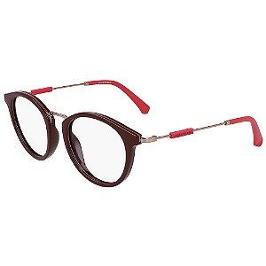 Óculos de Grau Calvin Klein Jeans CKJ19709 603/50 - Vermelho