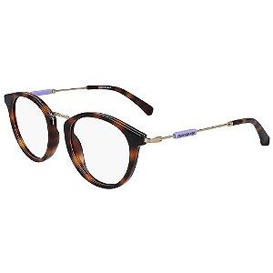 Óculos de Grau Calvin Klein Jeans CKJ19709 240/50 - Marrom