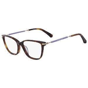 Óculos de Grau Calvin Klein Jeans CKJ18703 240/53 - Marrom