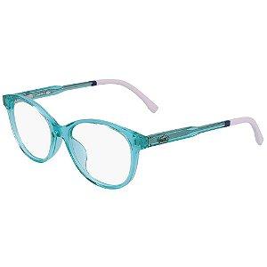Óculos de Grau Lacoste L3636 467/48 - Azul - Infantil