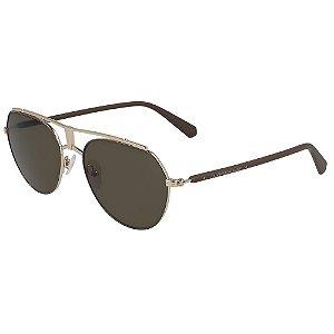 Óculos de Sol Calvin Klein Jeans CKJ19304S 210/54 - Marrom