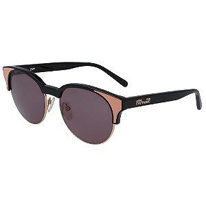 Óculos de Sol Diane Von Furstenberg DVF854S JOHANA 001/53 Preto - Redondo