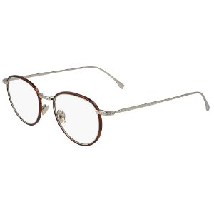 Óculos de Grau Lacoste L2602ND 214/48 - Marrom