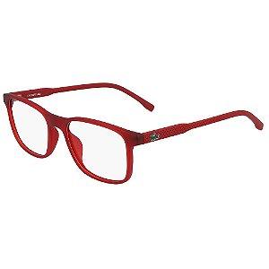 Óculos de Grau Lacoste L3633 615/49 - Vermelho - Infantil