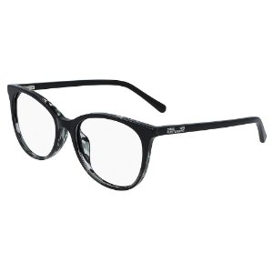 Óculos de Grau Diane Von Furstenberg DVF5121 001/52 Preto - Redondo