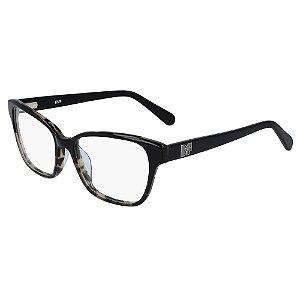 Óculos de Grau Diane Von Furstenberg DVF5116 010/53 Preto - Retangular
