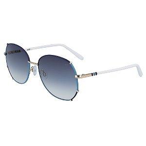 Óculos de Sol Diane Von Furstenberg DVF847S RYLEIGH 400/57 Azul - Redondo