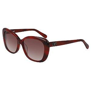 Óculos de Sol Diane Von Furstenberg DVF664S ANDI 605/54 Vermelho - Gatinho