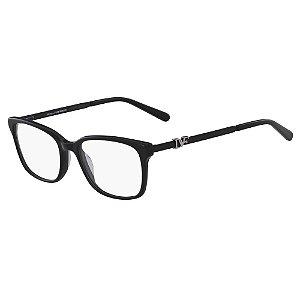 Óculos de Grau Diane Von Furstenberg DVF5101 001/52 Preto - Retangular