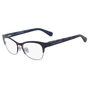 Óculos de Grau Diane Von Furstenberg DVF8061 450/52 Verde - Retangular