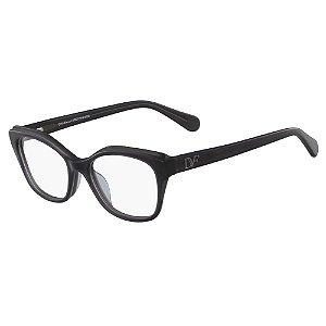 Óculos de Grau Diane Von Furstenberg DVF5097 014/51 Cinza - Retangular