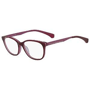 Óculos de Grau Calvin Klein Jeans CKJ481 602/53 - Vermelho