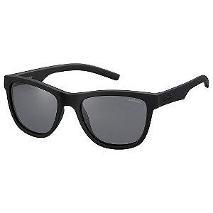 Óculos de Sol Polaroid PLD 8018S - Preto - Infantil - Polarizado