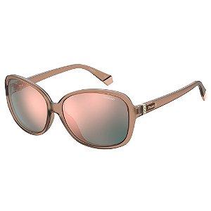 Óculos de Sol Polaroid PLD 4098/S/58 Rosa - Polarizado