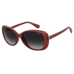 Óculos de Sol Polaroid PLD 4097/S/58 Vermelho - Polarizado