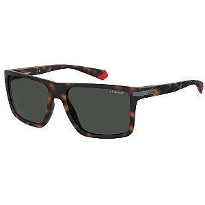 Óculos de Sol Polaroid PLD 2098/S/56 Marrom - Polarizado