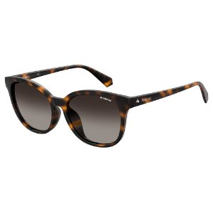 Óculos de Sol Polaroid PLD 4089/F/S/55 Marrom - Polarizado