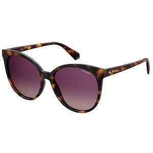 Óculos de Sol Polaroid PLD 4086/S/57 Marrom - Polarizado