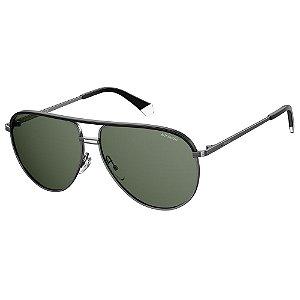 Óculos de Sol Polaroid PLD 2089/S/X/61 Cinza - Polarizado