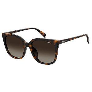 Óculos de Sol Polaroid PLD 4083/F/S/56 Marrom - Polarizado