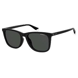 Óculos de Sol Polaroid PLD 6101FS - Preto - Polarizado