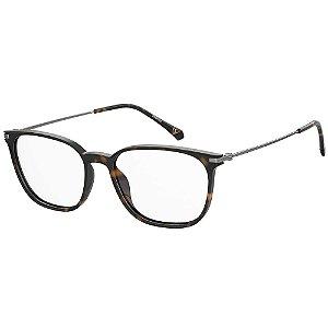 Óculos de Grau Polaroid PLD D411/52 Marrom