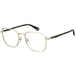 Óculos de Grau Polaroid PLD D390/G/55 Dourado - Polarizado