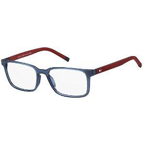 Óculos de Grau Tommy Hilfiger TH 1786/54 - Azul
