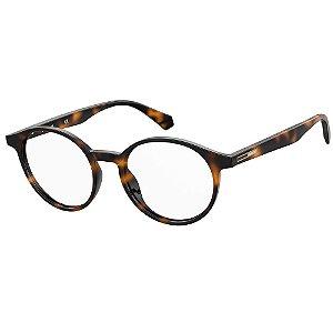 Óculos de Grau Polaroid PLD D380/49 Marrom - Polarizado