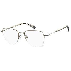 Óculos de Grau Polaroid PLD D386/G/53 Cinza Fosco - Polarizado