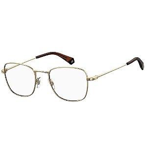 Óculos de Grau Polaroid PLD D377/G/51 Dourado - Polarizado