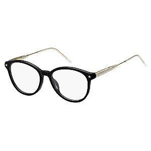 Óculos de Grau Tommy Hilfiger TH 1634/49 - Preto