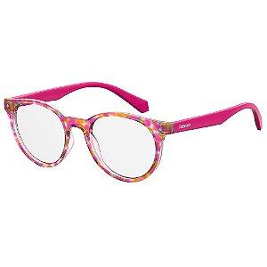 Óculos de Grau Polaroid Kids PLD D814/45 Rosa - Infantil