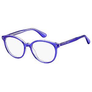 Óculos de Grau Tommy Hilfiger TH 1552 - Roxo