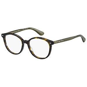 Óculos de Grau Tommy Hilfiger TH 1552/51 - Marrom