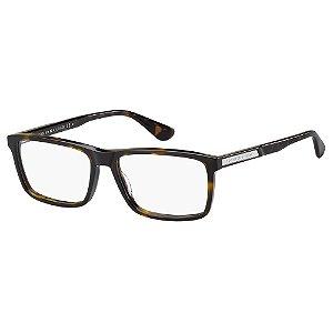 Óculos de Grau Tommy Hilfiger TH 1549/55 - Marrom