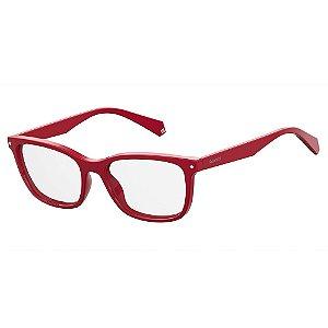 Óculos de Grau Polaroid PLD D338 - Vermelho