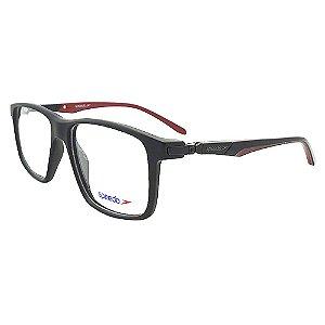 Óculos de Grau Speedo SPK6012I A01 - Preto / Vermelho