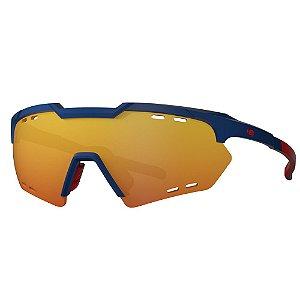 Óculos de Sol HB Shield Compact R - Azul / Vermelho