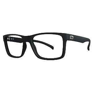 Óculos de Grau HB 0339 - Preto - Clip On Polarizado