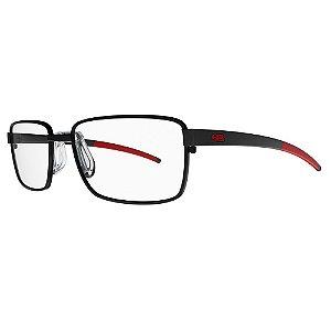 Óculos de Grau HB 0285 - Preto / Vermelho