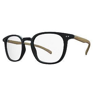 Óculos de Grau HB 93159 - Preto / Madeira