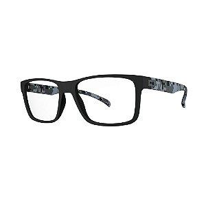 Óculos de Grau HB 93108 - Preto / Camuflado