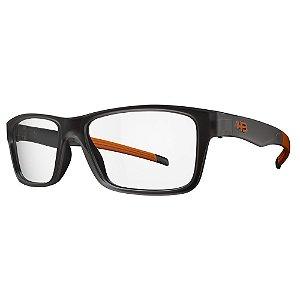 Óculos de Grau HB 93143 Teen - Preto / Laranja