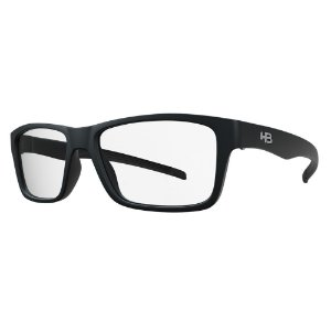 Óculos de Grau HB 93143 Teen - Preto Fosco