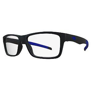 Óculos de Grau HB 93143 Teen - Preto / Azul