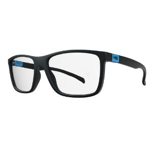Óculos de Grau HB 93146 Teen - Preto / Azul