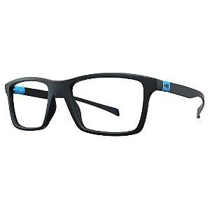 Óculos de Grau HB 93151 - Preto / Azul
