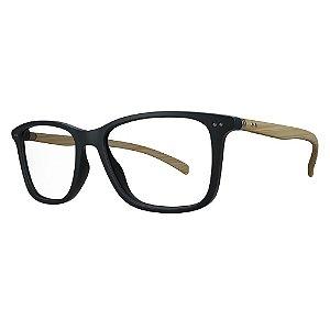 Óculos de Grau HB 93154 - Preto / Madeira